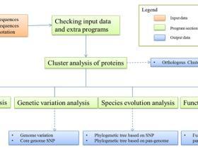 PGAP:泛基因组自动化分析的pipeline
